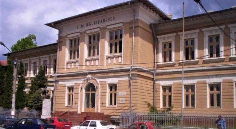COMMUNIO SPRIJINA COLEGIUL NAȚIONAL IENĂCHIȚĂ VĂCĂRESCU